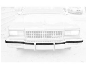 Front & Rear Bumper Impact Strip 86-90 Chevrolet Caprice Made In China 14083850