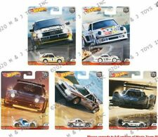 HOTWHEELS  HILL CLIMBERS  FULL SET OF 5 CARS  ALLOYS RUBBER TYRES.. //
