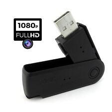 Cámara Espía Full HD 1080P Encubierta Memoria USB Dvr Oculta Grabador de video foto