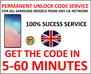 Unlock Code For Samsung Galaxy Ace Note 2 3 4 Orange EE T-Mobile Vodafone UK