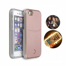 LUMINOUS CASE Led Light Style Selfie Cover For iPhone 6 6s Plus 5s SE