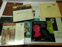 Lot of 14 Symphony Orchestra Music LPs Records Beethoven Bach Tchaikovsky etc.