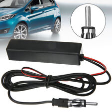 US Car Hidden Amplified Antenna 12V Electronic Stereo AM/FM Radio Universal