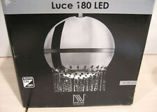 """Nikles Pearl Luce Led Overhead 7"""" Shower Head with Arm"""