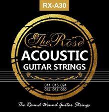 6x Gitarrensaiten für Westerngitarre Akustikgitarre Stahlsaiten Seite - The Rose