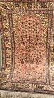 AN AWESOME COLOR COMBINATION ON TURKISH PRAYER SILK RUG