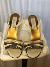 Vintage Barefoot Originals Made in Italy Slingbacks 8.5Aa