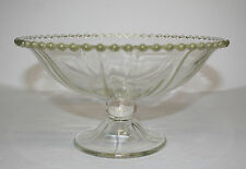Scarce Imperial Candlewick Pedestal Bowl - P&I Paid
