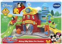 VTech Go Go Smart Wheels Mickey Mouse Silly Slides Fire Station Ages 1+ Toy Car