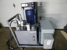 75 Hp 1500 Psi Hydraulic Power Supply Pressure Compensated Cooler On Cart