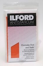 Ilford Anti Static Cleaning Cloth for Camera Lens Darkroom Negatives & Scanners