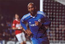 Nicolas Anelka, Chelsea FC & France, signed 12x8 inch photo. COA.