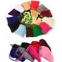 10x12cm Small Velvet Drawstring Pouch Bag Durble Christmas/Wedding Gift Bags-