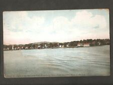 VINTAGE POSTCARD MERRIMAC RIVER AMESBURY FROM HAVERHILL TO THE SEA MASS MA 1918
