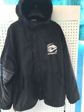 XL ANSWER trials stadium jacket Coat Black Hooded