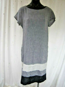 ALESSANDRA, As New, M, Fabulous In 100% Linen. With Pockets.