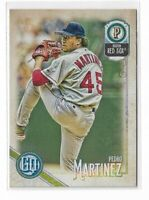 2018 Topps Gypsy Queen Baseball Legend SP high number #319 Pedro Martinez