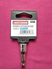 "CRAFTSMAN  1/4"" DRIVE, 1-1/2"" LONG, WOBBLE EXTENSION,  ( 43177 )   ""NEW"""