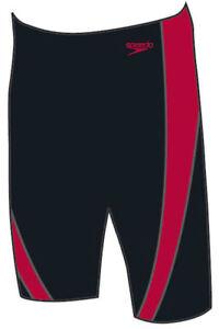 Speedo Endurance Plus Jammer, Trunks, Mens, Boys, Speedo Lepa Jammer Black/Red