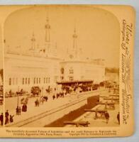 Stereoview Underwood Palaces Of Industries Esplanade Des Invalides Exposition O