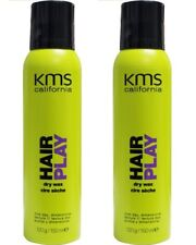 2 x KMS California Hair Play Dry Wax 4.6 oz / 150ml hairplay 100% Brand New