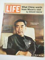 Life Magazine July 30, 1971 - Premier Chou En-lai