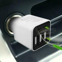 3 USB Car Charger Ionizer Oxygen Bar Generator Cleaner Portable Air T5T1