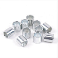 10Pcs Skateboard Bushed Bearing Spacer For Scooter Wheel Metal Bearings Bushing