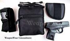 Belt Holster Pistol Pack Small Black Holster and Belt Included Free Card Knife