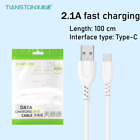 Fast+Charger+Cable+For+Samsung+Huawei+Type+C+USB-C+Data+2.1A+Charging+Cable+1M