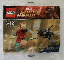 Lego ® Marvel Super Heroes 30167 Iron Man vs Fighting drone Promo nuevo con embalaje original New