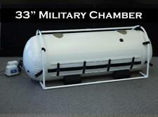 33 Inch Military Hyperbaric Chamber Dive Clinic Size AntiAging Best Service
