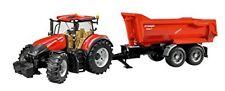Juego tractor Case LH Optum con remolque Krampe Bruder 03199