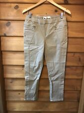 "NEW LONDON ""BOURNE"" CROPPED JEAN - NATURAL STONE - SIZE 32 (14)"