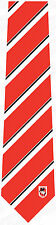 85762 ST GEORGE ILLAWARRA DRAGONS NRL TEAM LOGO COLOUR STRIPE MEN DRESS NECK TIE