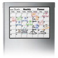 Magnetic Weekly Planner Organiser Calendar Memo Board Reusable Wipeable Fridge