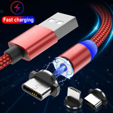 Magnetic USB Type C Fast Charging Cable For Samsung S20 FE S10e S9 S8 Note 20 10