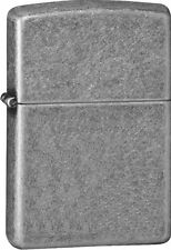 """Zippo """"Antique Silver Plated"""" Armor Lighter, Full Size,  28973"""