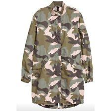 H&M Camouflage Cotton Parka Size 2