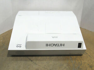 Hitachi CP-AX2505 3LCD XGA Ultra Short Throw Projector 2700 Lumens 1988 Lamp HRS