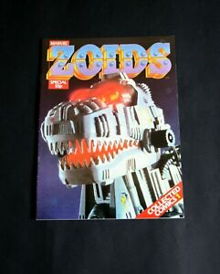 Marvel ZOIDS Special. Collected Comics No.1. March 1986. VF -Very Fine.