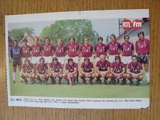 "1976/1977 Football Magazine (France) Colour Team Group [8""x 5""] Cut Outs: Metz"