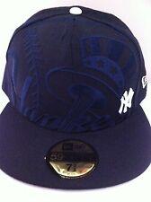 Authentic New York Ny NY Yankees New Era 59fifty Cap Hat Size 7 3/8 Mlb MLB New