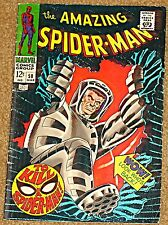 AMAZING SPIDERMAN 58 VF+ 8.5 RARE KEY KA-ZAR APPEARS STAN LEE JOHN ROMITA SR.