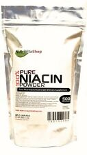 3.5 oz (100g) 100%PURE NIACIN NICOTINIC ACID POWDER VITAMIN B3 CHOLESTEROL HEART