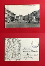 AK FRIEDEBERG am Queis 1918 Markt mit Kaiser Wilhelm Denkmal   ( 46472