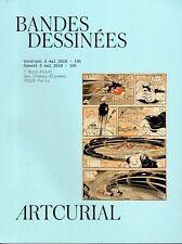 ARTCURIAL ENORME CATALOGUE VENTE ENCHERES BD DONT 62 PAGES CONSACREES A HERGE