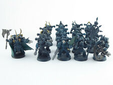 Lord Kranon + 16 x Mann Taktischer Trupp der Chaos Space Marines - teilw. bemalt