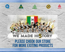 "JUVENTUS ""MADE HISTORY"" BANNER, Great way to decorate your Garage - TOP QUALITY"