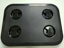 "Boat RV Motohome Access Inspection Deck Hatch Black L17.3""×W13.0"" 0550B"